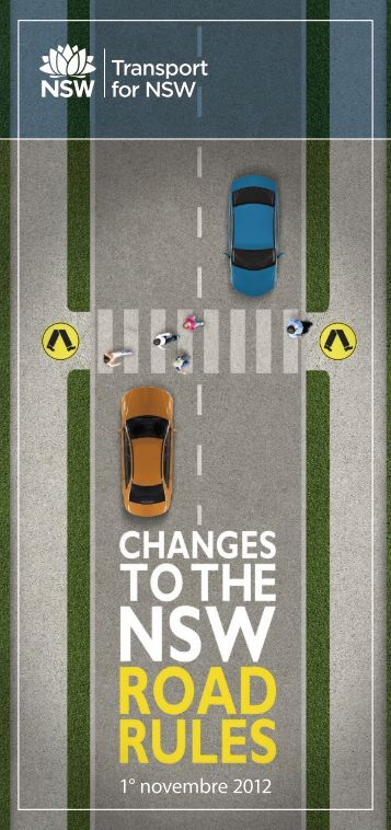 Changes to NSW road rules 2012 - Italian - RTA