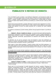 Linee Guida Pubblicitarie - Obbiettivo Benessere – Fisico ed ...