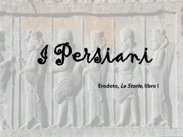 Erodoto, Le Storie, libro I - Liceo classico Giovanni Berchet