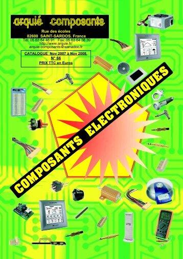COMPOSANTS ELECTRONIQUES - robertix