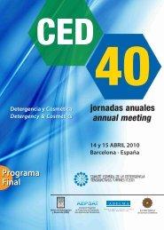 programa de la jornada - CED