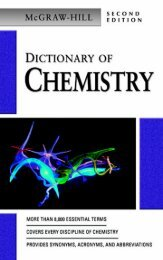 McGraw-Hill Dictionary of Chemistry Second Edition