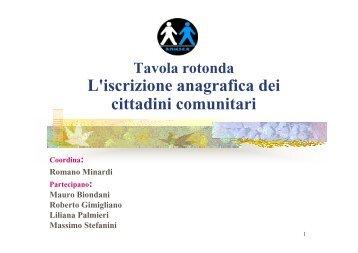 iscrizione anagrafica comunitari - Anusca