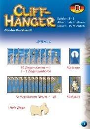 Cliffhanger mlv a13:layout 1 - AMIGO Spiel + Freizeit Gmbh