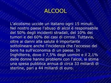 Alcool e Alcolismo - IRS l'Aurora