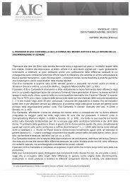 Marilisa D'Amico IL PENSIERO DI EVA CANTARELLA SULLA ...