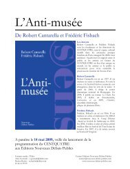 L'Anti-musée - Nouveaux Débats Publics