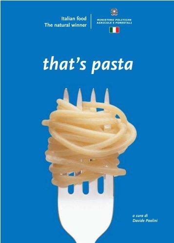 that's pasta