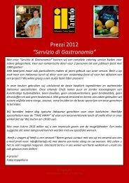 LISTINO 2012 - Il Tartufo