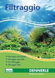 Filtraggio (PDF, ca. 1,4 MB) - Dennerle