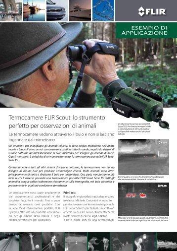 Termocamere FLIR Scout: lo strumento perfetto per ... - Flir Systems