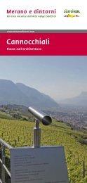 Brochure Cannocchiali - Focus sull'architettura (PDF ... - Meraner Land