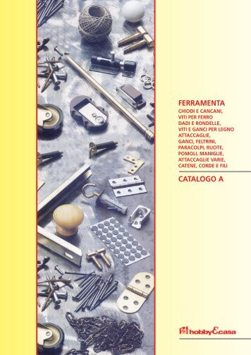 FERRAMENTA CATALOGO A - ORECA NEW Spa