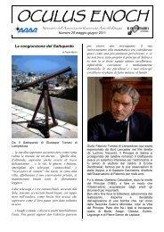 num.29, Maggio-Giugno - Associazione Ravennate Astrofili Rheyta