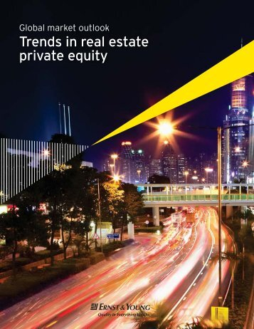 Trends in real estate private equity