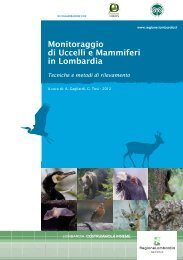 Monitoraggio di Uccelli e Mammiferi in Lombardia - Politiche ...
