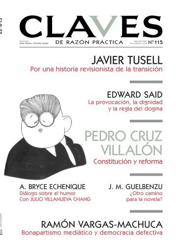 PEDRO CRUZ VILLALÓN - Prisa Revistas
