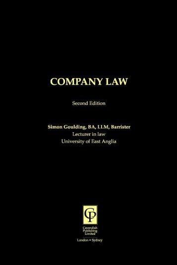 Company Law - Nexus Ltd