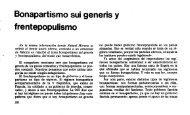 Bonapartismo sui generis y frentepopulismo - Archivo León Trotsky