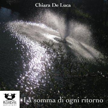 La somma di ogni ritorno - Chiara De Luca