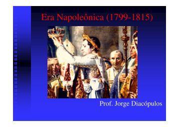 Era Napoleônica (1799-1815) - Colégio Alexander Fleming