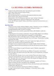 Scarica il riassunto della seconda guerra mondiale in formato PDF