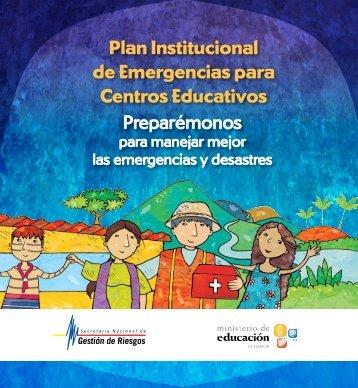 Plan Institucional de Emergencias para Centros Educativos