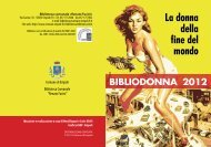 Bibliodonna 2012 - Comune di Empoli