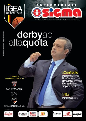 derbyad altaquota - Trapani Basket