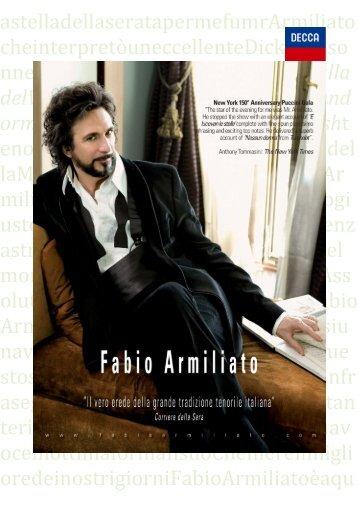 L'opera in una pagina.psd - Armiliato, Fabio