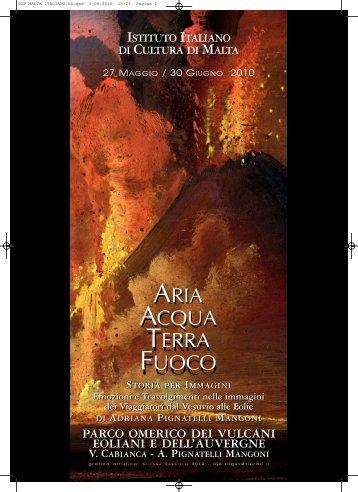 Catalogo ITALIANO Aria ok .qxd - Adriana Pignatelli