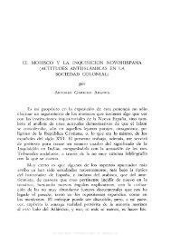 el morisco y la inquisicion novohispana (actitudes antiislamicas en ...