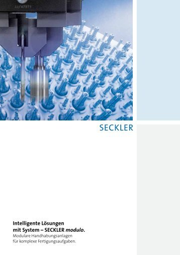SECKLER modulo. - Robert Seckler AG
