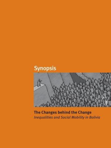 Synopsis - Informe sobre Desarrollo Humano en Bolivia - (PNUD).