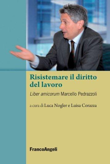 Risistemare il diritto del lavoro - Franco Angeli Editore