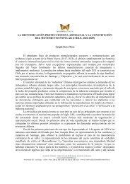LA REIVINDICACIÓN PROTECCIONISTA ... - Memoria Chilena