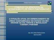 SEMINÁRIO SUL-BRASILEIRO DE GERENCIAMENTO ... - ABES-RS