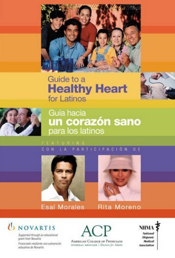 Guide to a Healthy Heart for Latinos - American College of Physicians