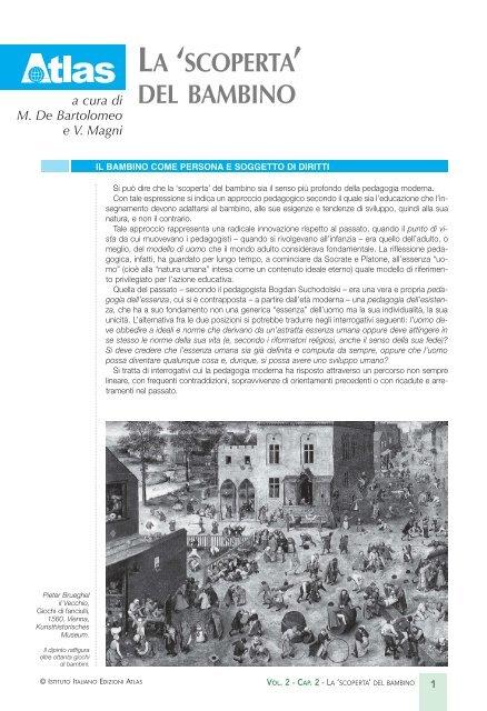 aeed4f0b5e LA 'SCOPERTA' DEL BAMBINO - Libreria Web - Atlas