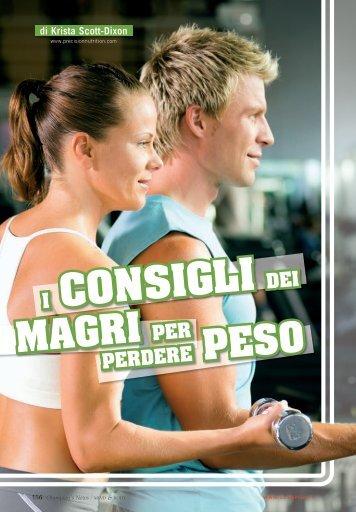 I consigli dei magri per perdere peso (PDF) - Olympian's News