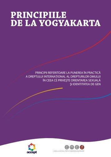 Principile De La Yogyakarta (PDF)