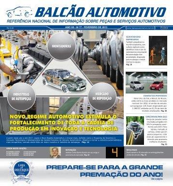 Edição 77 - Balcão Automotivo
