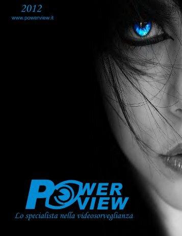 Scarica il catalogo della Powerview in formato pdf