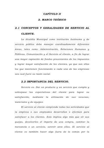 Capítulo II. Marco teórico - Universidad de Oriente