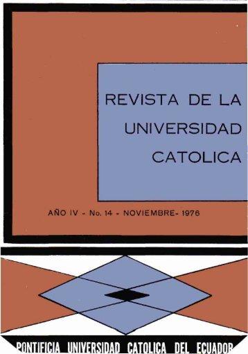Revista 14.pdf - Pontificia Universidad Católica del Ecuador