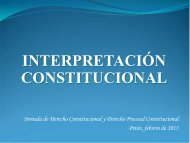 Interpretación Constitucional por Julio Cordón - Corte de ...