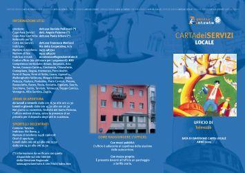 CARTAdeiSERVIZI - Direzione regionale Friuli Venezia Giulia ...
