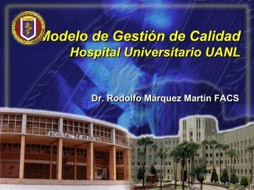 Modelo de Gestión de Calidad Hospital Universitario UANL
