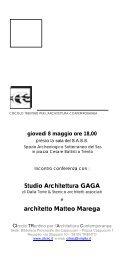 Studio Architettura GAGA architetto Matteo Marega - Citrac