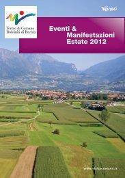 Estate 2012 Eventi & Manifestazioni - Terme di Comano